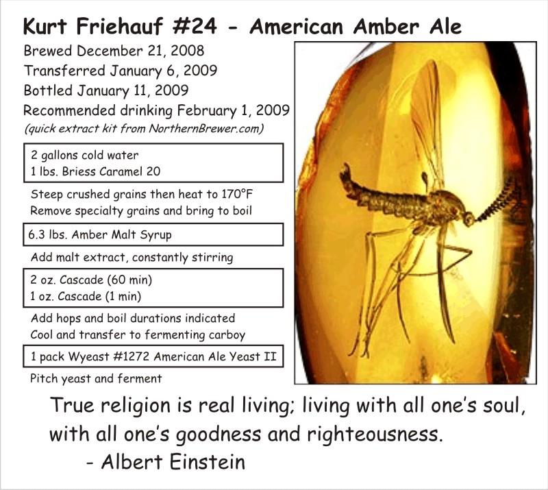 American Amber Ale (#24)